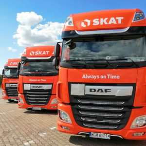DAF 480 FT trucks join the SKAT fleet