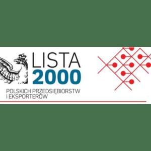 Grupa SKAT wysoko wrankingu Lista 2000 Rzeczpospolitej